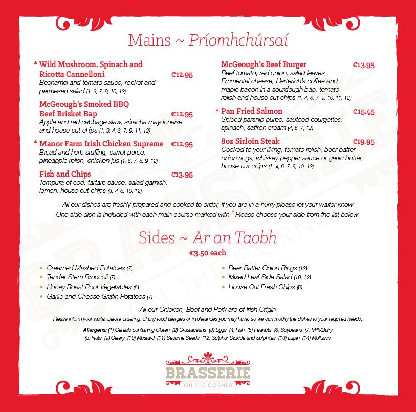 Brasserie Lunch Menu - March 2019 - PG 03