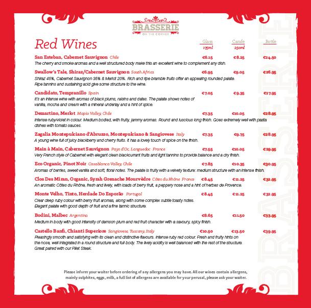 Brasserie Wine List - March 2019 - PG 05