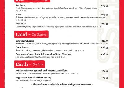 Brasserie A La Carte Evening Menu - March 2019 - PG 02