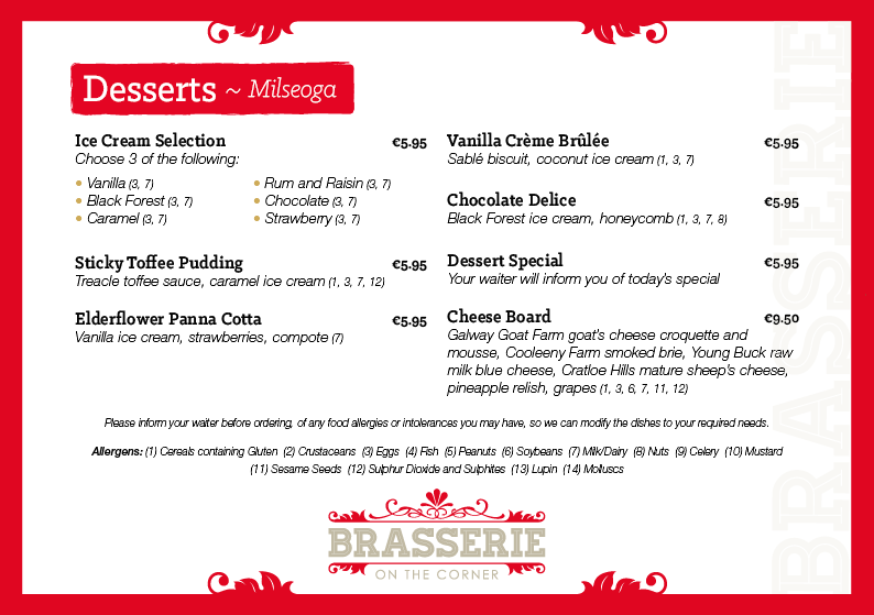 Brasserie A La Carte Evening Menu - March 2019 - PG 04