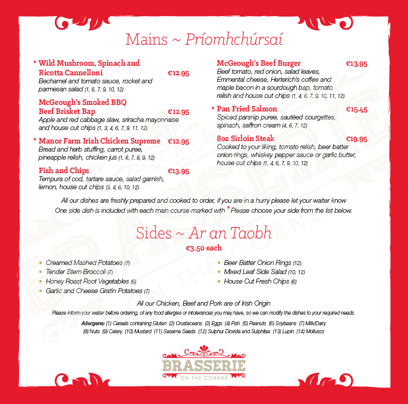 Brasserie Lunch Menu - March 2019 - PG 03