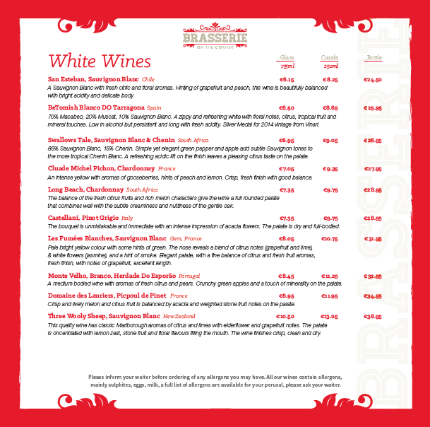 Brasserie Wine List - March 2019 - PG 02