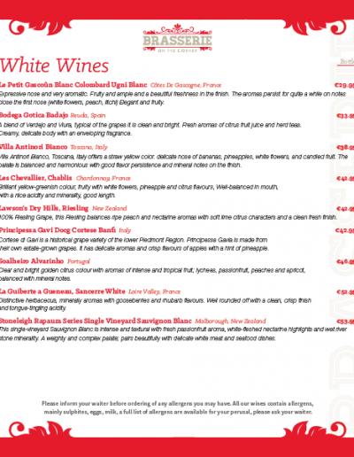 Brasserie Wine List - March 2019 - PG 03