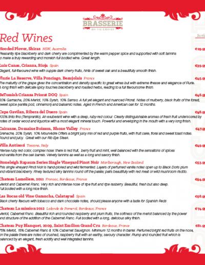 Brasserie Wine List - March 2019 - PG 06