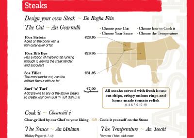 A La Carte Evening Menu - Page 3